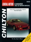 CHEVROLET CAMARO (1982-1992) CHILTON