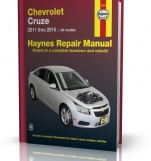 CHEVROLET CRUZE (2011-2015) - Haynes Repair Manual