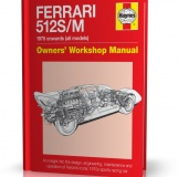FERRARI 512 S / FERRARI 512 M 1970 onwards (all models)