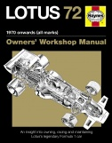 LOTUS 72 OWNERS MANUAL