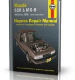MAZDA 626 AND MX-6 (Front-wheel drive) (1983 - 1992) - Haynes Repair Manual