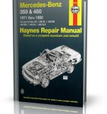 MERCEDES-BENZ 350 & MERCEDES-BENZ 450 (1971 - 1980) - Haynes Repair Manual