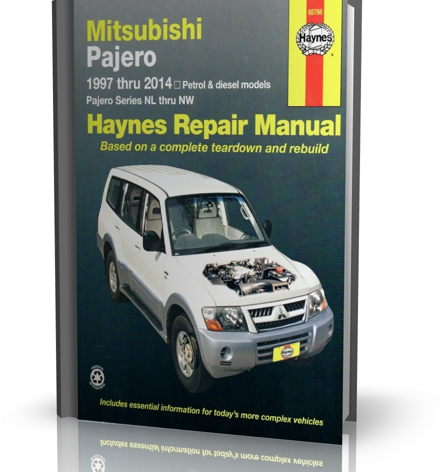MITSUBISHI PAJERO 1997-2014 - Haynes Repair Manual