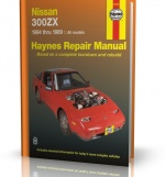 NISSAN 300ZX (1984 - 1989) - Haynes Repair Manual