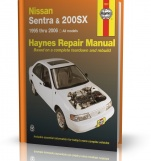 NISSAN SENTRA & NISSAN 200SX (1995-2006) - Haynes Repair Manual