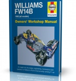 WILLIAMS FW14B 1992 (all models) - Owners\' Workshop Manual